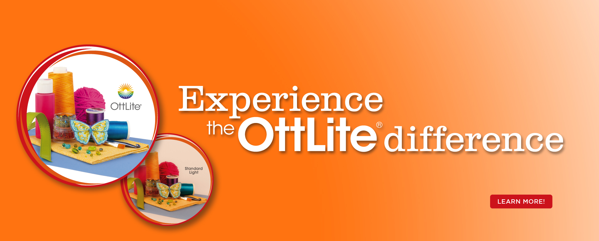 Experience the OttLite Difference