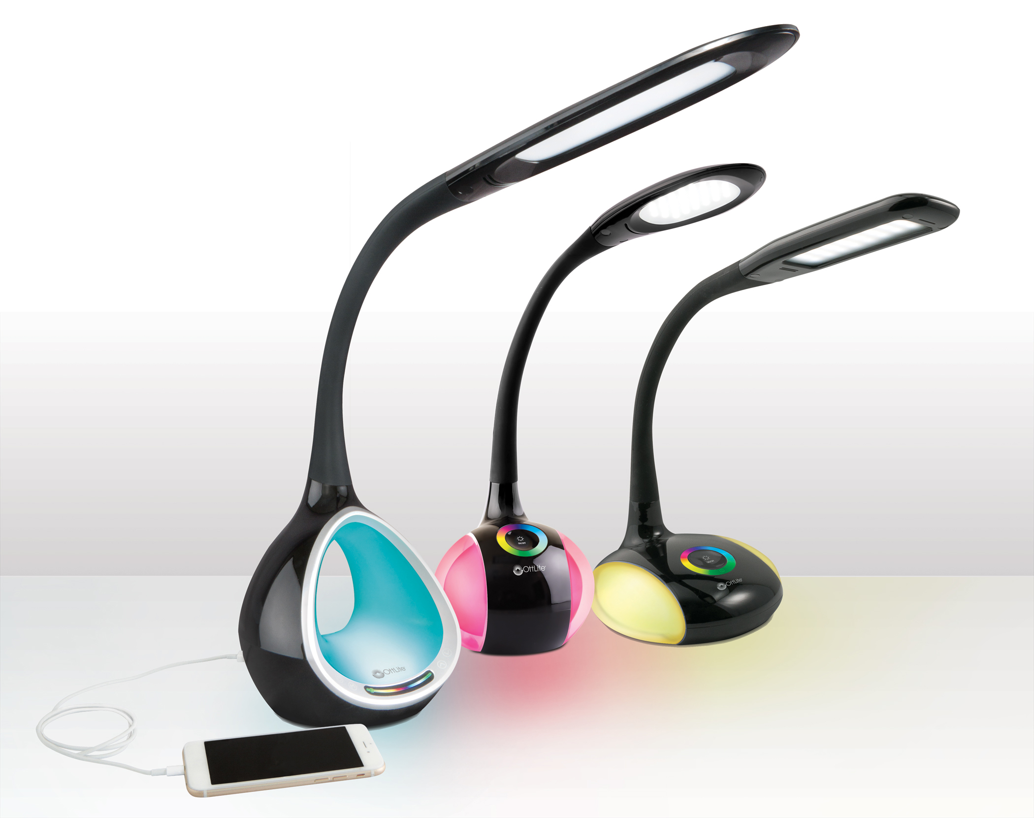 Ottlite Led Color Changing Base Lamps How The Magic