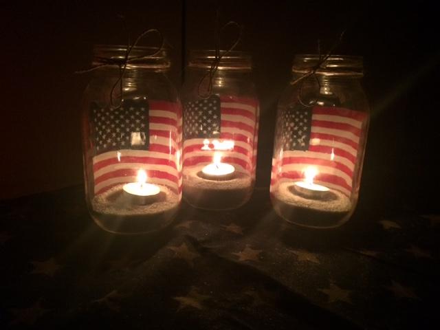 Patriotic Mason Jar Candle Ottlite Ottlite Blog Helping You Do