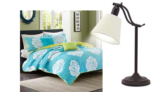 we ve paired bedroom styles from wayfair with ottlite reading lamps. Black Bedroom Furniture Sets. Home Design Ideas