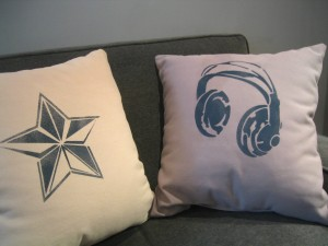 Stencil1 Pillows